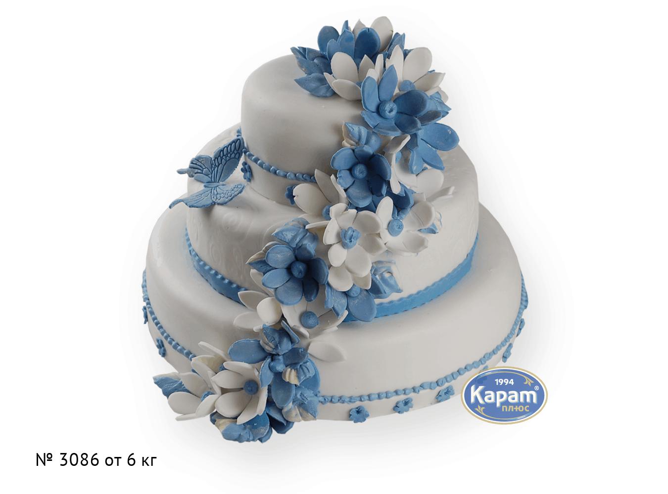 Свадебный торт, торты на зкаказ